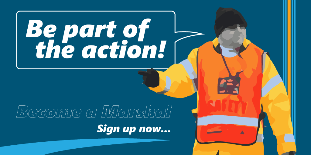 Be part of the action…
