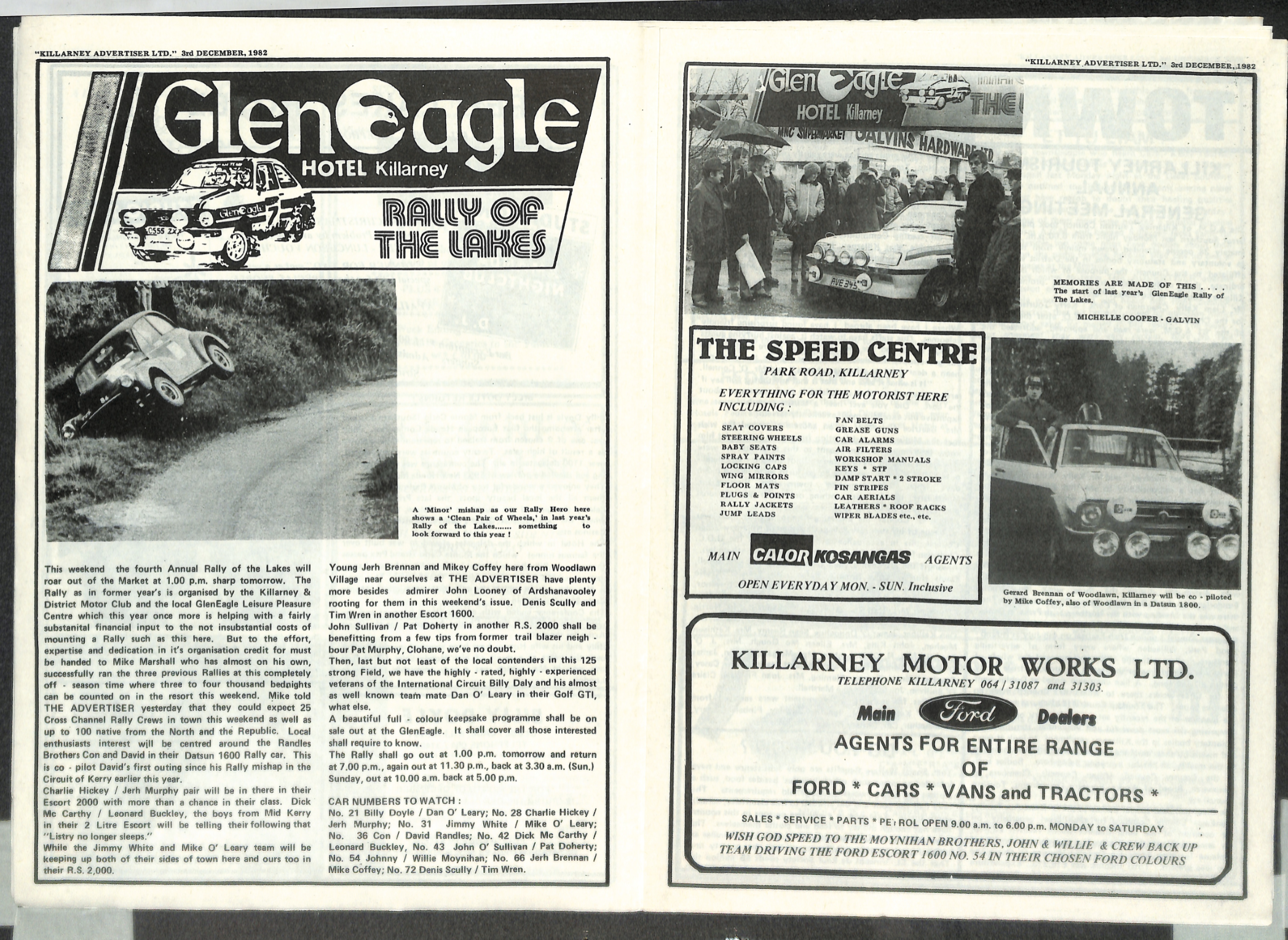 Another drive down memory lane 1982 - Rally of the Lakes