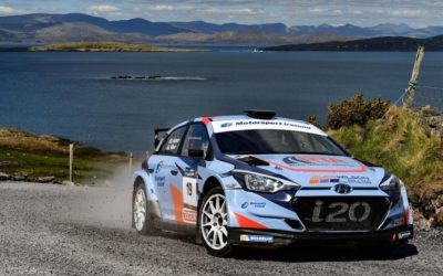 GREAT DEBUT DRIVE IN R5 BY JAMES IN KILLARNEY RALLY