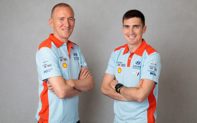 Breen and Nagle back in the WRC for Finland