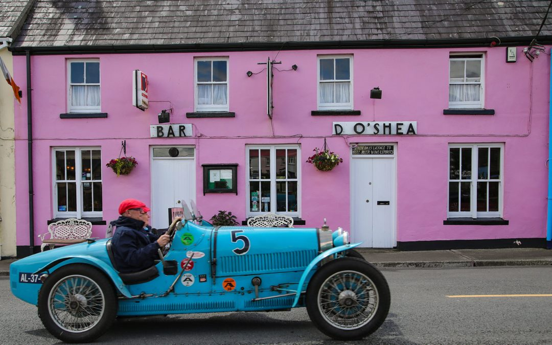 100 Bugattis gather at The Dunloe Hotel & Gardens for week-long driving tour
